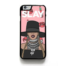 BEYONCE SLAY #1 iPhone 4/4S 5/5S 5C 6 6S Plus SE Case Cover Plastic or Rubber