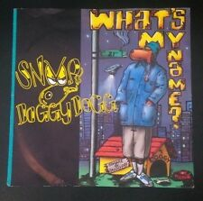 "Snoop Doggy Dogg - Whats my name? 7"" (Ex,VG) *A2,B1* A8337. Deathrow records"