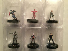 Heroclix Captain America Civil War Movie Complete Common Set 001-006 Gravity Lot