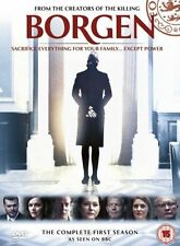 Borgen  Complete 1st Series Dvd Brand New & Factory Sealed