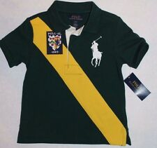 NWT Polo Ralph Lauren Toddler Boys Big Pony Logo Classic Shirt Top Sizes 4T