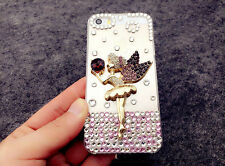 Angel girl Gradient Rhinestone Crystal Case cover for Apple iphone7 4.7' S1211