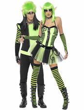 Adult Punk Elves Elf Couples Fancy Dress Costume Outfits