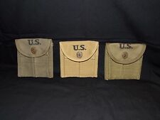 WWII U.S. Military M1 Carbine Rifle Magazine Ammo Buttstock Stock Pouch Replica