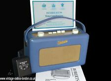 ROBERTS REVIVAL R250 MW/LW/FM PORTABLE RADIO - CONNOLLY LEATHER SPECIAL EDITION!