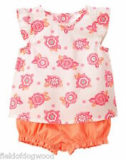 NWT Gymboree Elephant Oasis Floral Swing top Bloomer Set 0 3 6 12 18-24mo