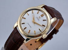 VINTAGE OMEGA SEAMASTER 14K GOLD REF.GX6546 SCREW BACK THICK LUG CLEAN CONDITION