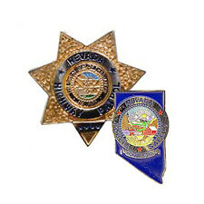 Nevada Highway Patrol Badge & Patch Lapel Pins