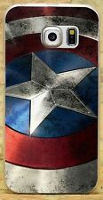 New Captain America Style Hard Case Cover For iPhone Samsung Huawei Sony