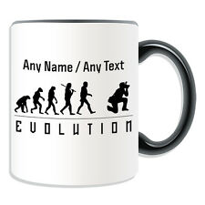 Personalised Gift Photographer Mug Money Box Cup Evolution Design Camera Name