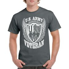 T US Army Shirt S Mens Military Graphic Blue Veteran Insignia Navy Air Branch U