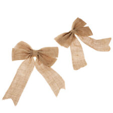 Christmas Tree Bow Decoration Supplies XMAS Party Bows Christmas Ornament Gift