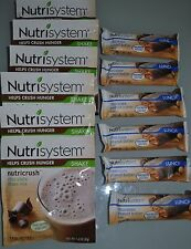Lot of 6 Nutrisystem Nutricrush-Choose your own-Shakes and/or Bars-$19.99-$21.99