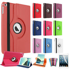 Smart Leather Rotation 360 Degree Stand Case Cover For iPad 4 iPad 3 and iPad 2