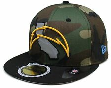NFL® New Era® San Diego Chargers Camo 59Fifty™ State Reflective Fitted Hat Sz
