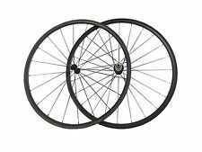 24mm Clincher Carbon Wheels Road Bike Bicycle Newly Ultra Light Wheelset On Sale