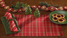 Park Designs- Christmas Very Berry Placemats (Set of 2)  or  Table Runner -  NEW