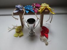 Julip Horse Prizewinners Set, Comprising Cup, Rosettes and Rack, Set No. 1601