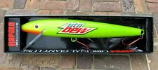 "NEW NOS  2005 Rapala Original Giant 29"" Inch MOUNTAIN DEW Fishing Lure - Mtn Dew"