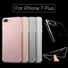 Ultra Thin Clear Crystal TPU Soft Back Case Cover For Apple iPhone 7 7 Plus LOT