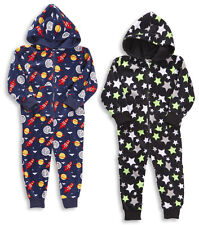 Boys And Girls All In One Sleepsuit Pyjama All In One Four Styles To Choose From