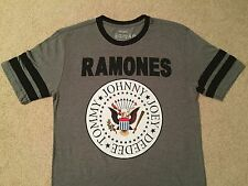RAMONES Joey Johnny TOMMY DEEDEE Hey Ho Let's GO album tour New MEN'S T-shirt