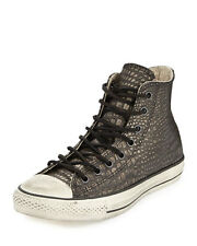 Converse John Varvatos X Leather Reptile Embossed High Tops MSRP $200 NEW