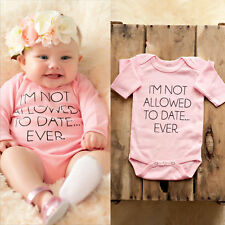 Toddler Infant Newborn Baby Boys Girls Romper Jumpsuit Bodysuit Clothes Outfits