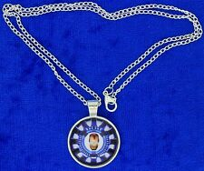 Iron Man Tony Starc Arc Reactor Cabochon Style Necklace Avengers Movie Inspired