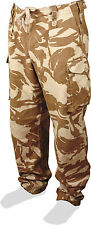 GENUINE BRITISH ARMY SURPLUS DESERT DPM COMBAT TROUSERS