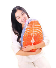 Salmon pillow Fish cushion Fish pillow Home backrest Holiday gifts