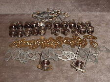 24 pcs.Button Style Camloc studs -5's with Receptacles & Spacers & Rivets