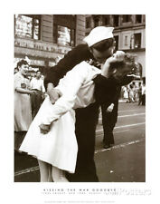 Kissing the War Goodbye (Times Square, New York City,, c.1945) Art Print by