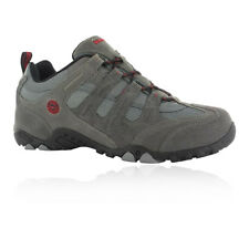 Hi-Tec Quadra Classic Mens Grey Outdoors Walking Hiking Shoes Trainers