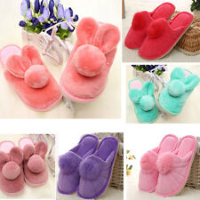 Cute Women Soft Warm Plush Antiskid Indoor Home Winter Coral Velvet Slippers Lot