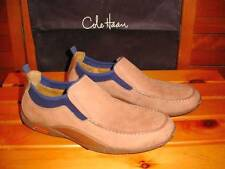 Cole Haan Nike Air Tan & Blue Suede Loafers Mens 10 M