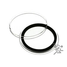 """Genuine AirTite Black Ring Type Coin Holders Capsules """"Select your Size & Qty"""""""