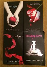 Twilight 4 Book Set Collection Bundle Stephanie Meyer Black Cover Paperback