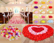 Hot Flowers Silk Rose Petals Wedding Party Table Confetti Celebration Decoration