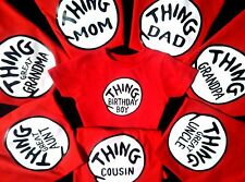 thing 1 and thing 2 t-shirts HALLOWEEN new kids adults thing one thing two ..