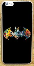 Batman Logo Neon 80s Superhero DC Graffiti Style Rigid Case For All Phone Models