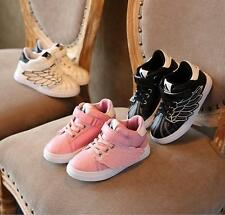 Children 's shoes personality wings small white shoes small children' s shoes