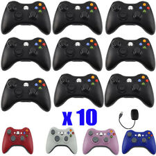 LOT 10 Wired Wireless Game pad Remote Controller for Microsoft Xbox 360 Console