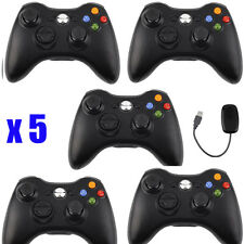 LOT 5 Wired Wireless Game pad Remote Controller for Microsoft Xbox 360 Console
