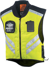ICON Mil-Spec Mesh Motorcycle Visibility Vest (Mil-Spec Yellow) Choose Size
