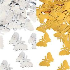 Butterfly Party Table Confetti GOLD / SILVER - Decorative Sprinkles