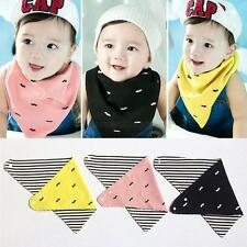 Feeding Infant Baby Bandana Bibs Triangle Bibs 3 Colors Saliva Towel Head Scarf