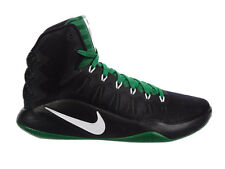 NEW MENS NIKE HYPERDUNK 2016 BASKETBALL SHOES TRAINERS BLACK / WHITE / PINE GREE