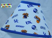 UNIVERSITY OF KENTUCKY LAMP SHADE (Made by LBC) SHIPS WITHIN 24 TO 48 HOURS!