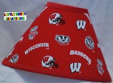 UNIVERSITY OF WISCONSIN LAMP SHADE (Made by LBC) SHIPS WITHIN 24 TO 48 HOURS!